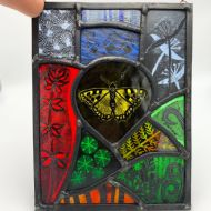 Harriet Love Stained Glass Rectangular Panel II